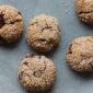 Tahini cookies við sjokolátu